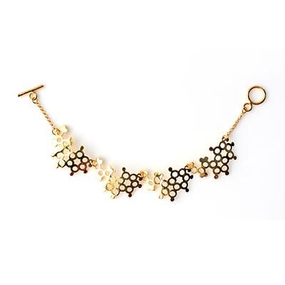 Serotonin Bracelet gold